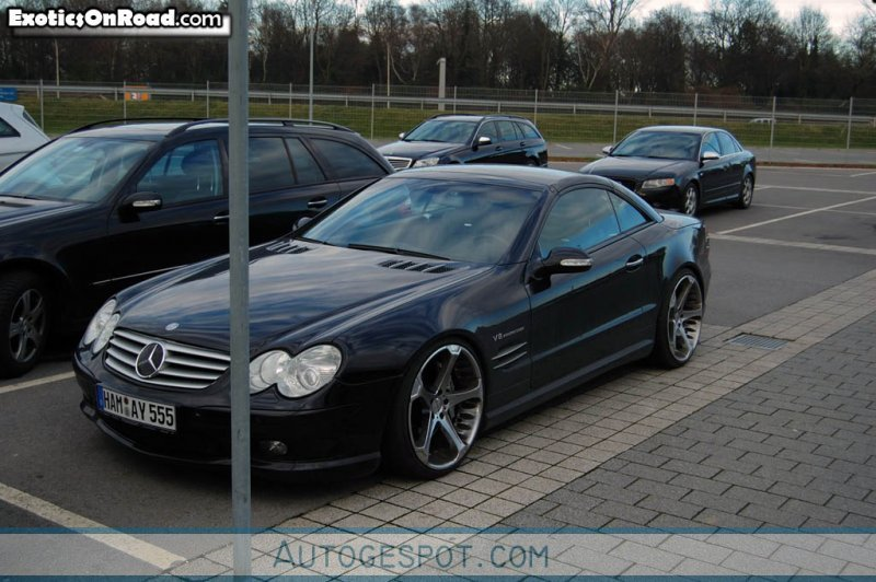 Mercedes benz sl 55 amg r230 13 february 2009 autogespot for 2006 mercedes benz s55 amg for sale
