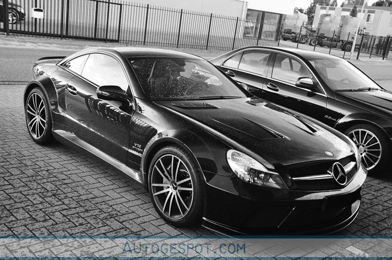 Mercedes Benz Sl 65 Amg Black Series 20 July 2009