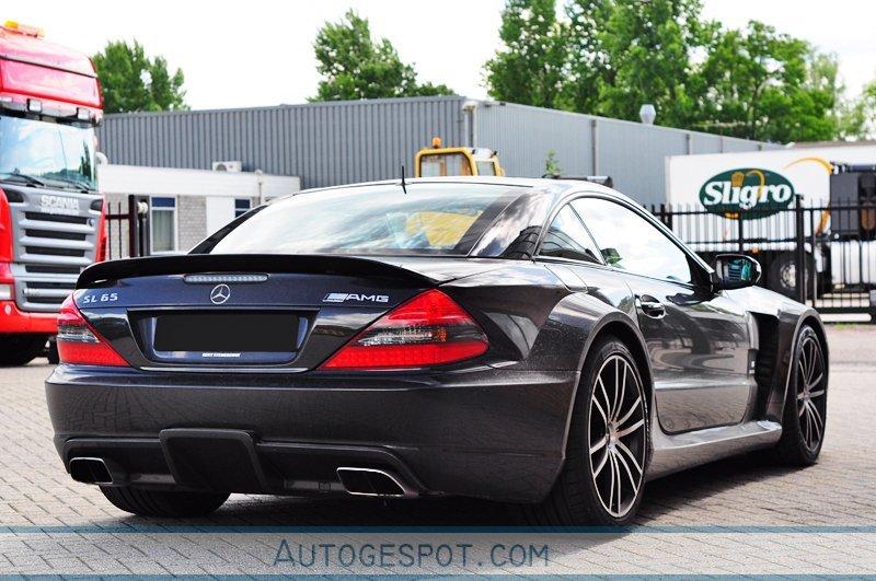 Mercedes Benz Sl 65 Amg Black Series 20 July 2009 Autogespot