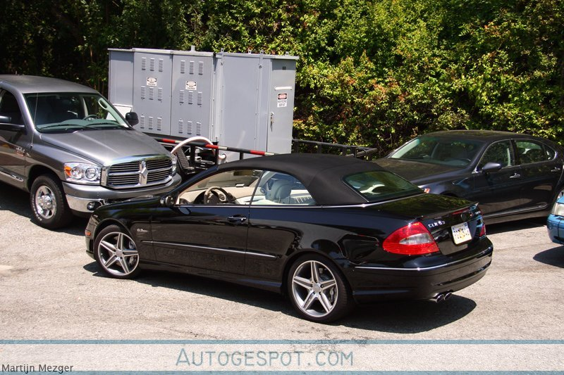 Mercedes benz clk 63 amg cabriolet 8 august 2009 for Mercedes benz clk 63 amg