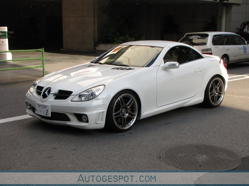 mercedes benz slk 55 amg r171 30 october 2009 autogespot. Black Bedroom Furniture Sets. Home Design Ideas