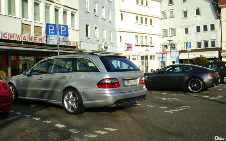Mercedes Benz E 55 AMG bi 3 April 2009 Autogespot