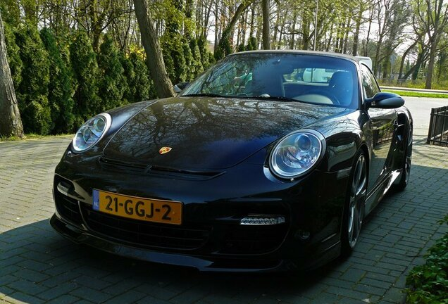 Porsche 997 Turbo Cabriolet TechArt