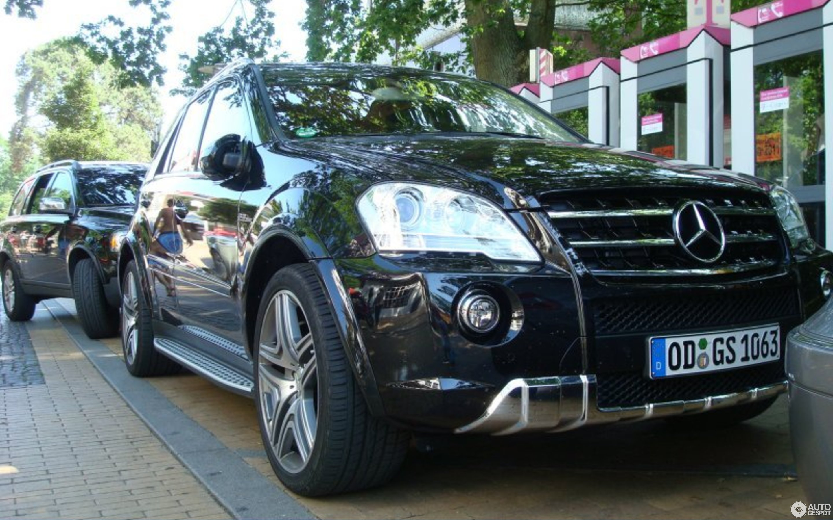 Mercedes Benz ML 63 AMG W164 2009 3 July 2009 Autogespot