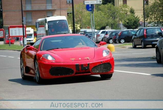Ferrari 458 Italia Mule