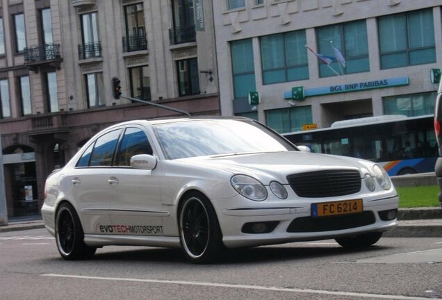 Mercedes-Benz E 55 AMG Evotech Stage 5